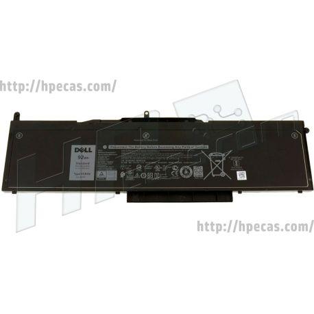 Bateria Dell Latitude 5580, 5591, Precision 3520, 3530 Original 6 células 11.4V 92Wh 7666mAh (0VG93N, 0WFWKK, 0X0TVD, VG93N, WFWKK, X0TVD, 451-BBZH) N