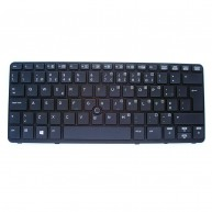 Teclado HP EliteBook 720/820 G1 Portugal Retro-iluminado Preto (730541-131 / 735502-131)