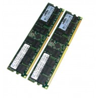 408851-B21 Memória HP 2GB (2x 1GB) PC2-5300 DDR2/667 Mhz ECC/REG (R)