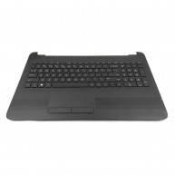 HP Top Cover Black inclui TouchPad e Teclado PT HP 255-G5 256-G5 15-AY 15-AU 15-AS 15-BA 15-BG (855027-131)