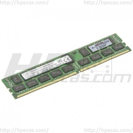 836220-B21 HP 16GB (1x16GB) 2Rx4 PC4-19200 DDR4-2400T Registered CL17 ECC 1.20V STD SmartMemory 846740-001 (N)