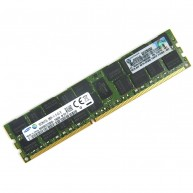 713985-B21 HP 16GB (1X16GB) 2RX4 PC3L-12800R DDR3-1600 Registered CL11 ECC Low Voltage 1.35V STD SmartMemory 715284-001 (N)