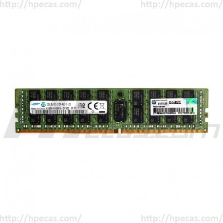 728629-B21 HP 32GB (1X32GB) 2RX4 PC4-17000P-R DDR4-2133 Registered CL15 ECC 1.2V STD SmartMemory 774175-001 (N)