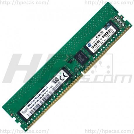 HPE 8GB (1x 8GB) 1R PC4-2400T-R DDR4-2400 REG ECC CL17 1.2V STD SmartMemory (805347-B21, 805347-H21, 805347-K21, 805348-B21, 809080-091, 819410-001) N