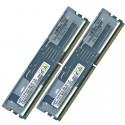 HP 2GB (2X1GB) 2Rx8 PC2-5300FB DDR2-667 Registered CL5 ECC FB 1.8V STD (397411-B21 / 398706-051 / 398706-551 / 416471-001 / 446557-001) R