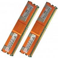 397413-B21 HP 4GB (2X2GB) 2Rx4 PC2-5300F-5 DDR2-667 Registered CL5 ECC FB 1.8V STD 416472-001 (N)