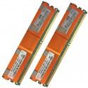 397413-B21 HP 4GB (2X2GB) 2Rx4 PC2-5300F-5 DDR2-667 Registered CL5 ECC FB 1.8V STD 416472-001 Recondicionado