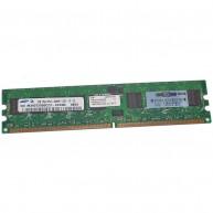 Memória HP 1GB (1x 1GB) 1Rx4 PC2-3200R DDR2-400 Registered CL3 ECC 1.8V STD (359242-001) (R)