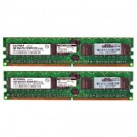 343056-B21 HP 2GB (2X1GB) 1Rx4 PC2-3200R DDR2-400 Registered CL3 ECC 1.8V STD 413385-001(R)