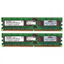 HP 2GB (2X1GB) 1Rx4 PC2-3200R DDR2-400 Registered CL3 ECC 1.8V STD 343056-B21 (R)