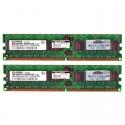 343056-B21 HP 2GB (2X 1GB) 1Rx4 PC2-3200R DDR2-400 Registered CL3 ECC 1.8V STD 413385-001(N)