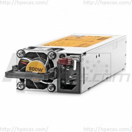 720479-B21 HP Fonte de Alimentação 800W Flex Slot Platinum HP 754381-001 (R)