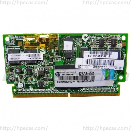 HP Flash Backed Write Cache Fbwc Module 1GB 505908-001 534562-B21 570501-002 (R)