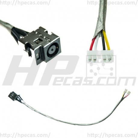71CI6132001 DC Jack HP DV7-1000 série