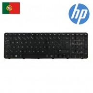 HP Teclado Português Preto 673613-131 681800-131 699497-131 700271-131 (N)