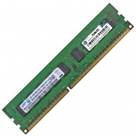HP 4GB (1X4GB) 2Rx8 PC3L-10600E DDR3-1333 Unbuffered CL9 ECC 1.35V STD 647657-071 647907-B21 664695-001 (N)