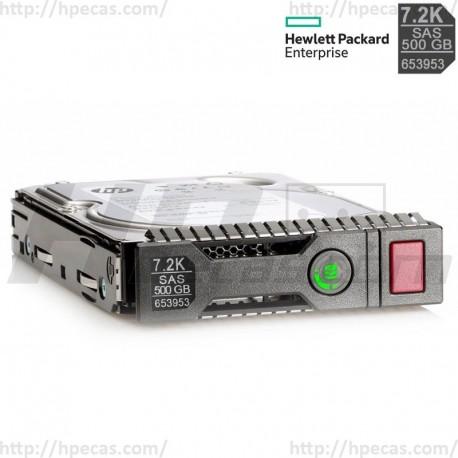 "HP 500GB 7.2K 6GB/s DP SAS 2.5"" SFF HS MDL SC G8-G9 HDD (652745-B21 / 653953-001 / 605832-001) N"