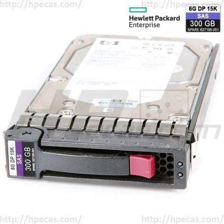 "HP 300GB 6GB/s 15K DP SAS 2.5"" SFF HS ENT G1-G7 HDD (627117-B21 / 627195-001) N"
