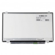 """Ecrã LCD 14"""" 1366x768 HD Antiglare TN WLED 30-Pinos BR eDP1.2 Flat 2BT 2BB (LCD017M) N"""