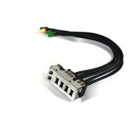 Front USB / Audio I/O Panel HP (628565-001, 625248-001)
