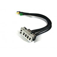 Front USB / Audio I/O Panel HP (628565-001)