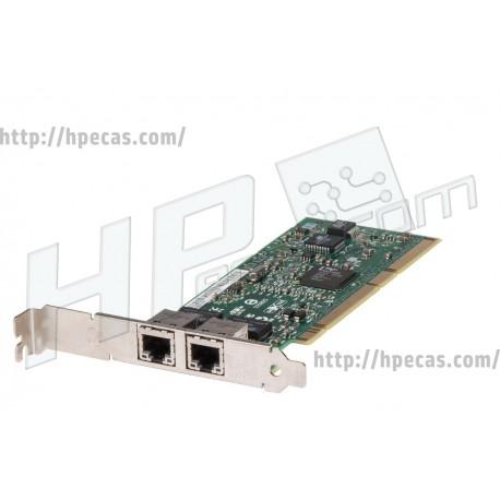 Placa de rede NC7170 para servidor PCI-X Dual RJ45 10/100/1000 Mbps (313586-001) (R)
