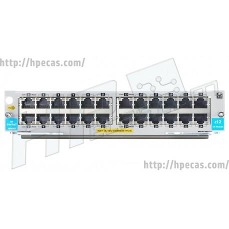 HP Aruba 5400R 24-port 10/100/1000BASE-T PoE+ with MACsec v3 zl2 Module (J9986A / J9986-61001)