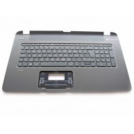 HP Top Cover Textured Island Style com Teclado PT Negro integrado, Sem TouchPad (765806-131 / 769012-131)