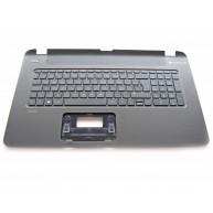 HP Top Cover Textured Island Style com Teclado PT Negro integrado, Sem TouchPad (765806-131 / 769012-131)