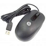 HP USB Laser Light Optical Mouse - Jack Black color (672652-001 / 674316-001)
