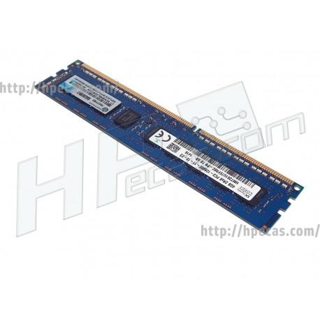 669322-B21 HP 4GB 1X4GB DUAL RANK X8 PC3-12800E DDR3 (N)