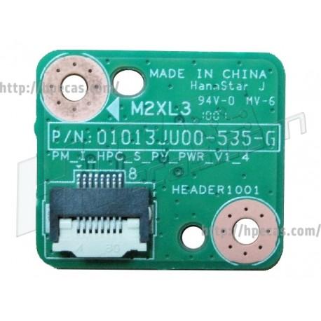 HP Power Button Board (606008-001 / 01013JU00-535-G)