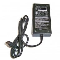 Carregador EPSON Original 24V 2.1A 50.4W 10mm Round 3-Pinos (AC129) R (C32C825341LG / C825343 / M159A / M159B / PS-180 / PS180) (R)