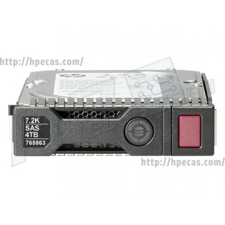 """Disco HP 4TB 12G SAS 7.2K 3.5"""" 512E (765257-B21)"""