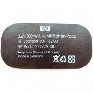 Bateria Original HPE 3.6V 500 mAh (274779-001, 307132-001) N
