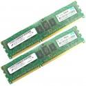 HP 8GB (2X4GB) 1Rx4 PC3-10600 DDR3-1333 Registered CL9 ECC 1.5V STD (AM327AR / AM327A) R