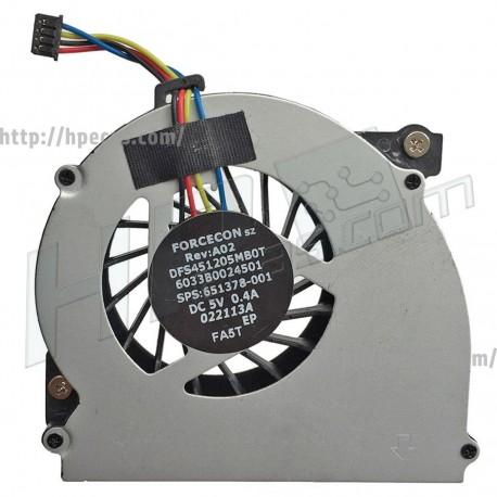 HP 2560P/2570P Fan (651378-001)