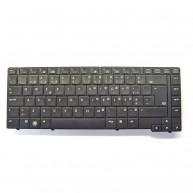 "HP Teclado ProBook 6440B/6445B/6540B 14"" Português Preto S/Point Stick (583292-131, 585460-131)"