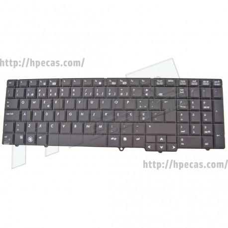 "HP Teclado ProBook 6440B/6445B/6540B 15.6"" Português Preto S/Point Stick (583293-131)"