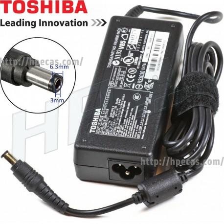 Carregador Toshiba Original 15V 5A 75W 6.3×3.0mm (AC003)