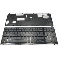 "Teclado Internacional HP Probook 4410s 4510s séries 15.6"" (536537-081) COM moldura"