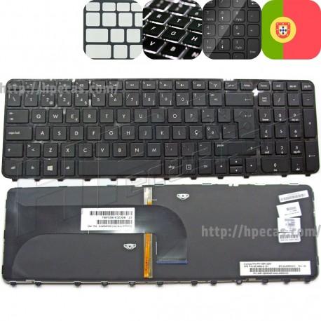 Teclado HP Envy m6 e Pavilion m6 Português Preto Com BackLight (686915-131, 698403-131, 699855-131)