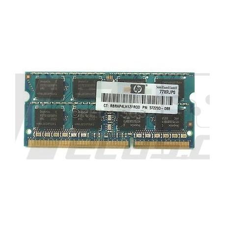572293-D88 HP - SODIMM 2GB PC3 10600 CL9 DPC
