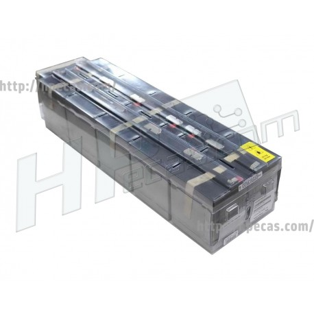Baterias UPS HP R5500 XR Kit de 10 (349992-001, 407419-001)