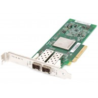 HP Pci Express 2-Port 8gb Fibre Channel Sr (Qlogic) Adapter (489191-001, 584777-001, AH401A, AJ764-63002, AJ764B) (U)