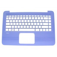 HP Top Cover Azul com Teclado sem TouchPad integrado (905570-131, 905569-131)