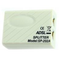 ADSL splitter, separa e isola o sinal de ADSL e Telefone R