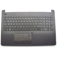 HP 15-BS, 15-BW, 15-RA, 15-RB Top Cover/Keyboard in Jet Black (925008-131)