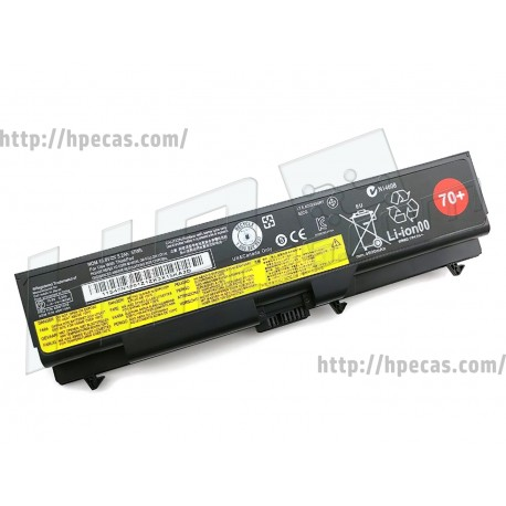Lenovo Bateria original 70+ 6C 10.8V 5.2Ah 57Wh ThinkPad L/T/W (0A36302, 45N1000, 45N1001, 45N1004, 45N1005)