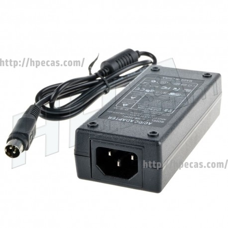 Carregador EPSON compativel 24V 2.1A 50.4W 10mm Round 3-Pinos (C32C825341LG / C825343 / M159A / M159B / PS-180 / PS180)